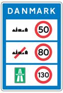 Generelle hastighedsbegraensninger