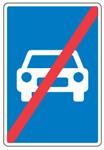 Motortrafikvej ophoerer