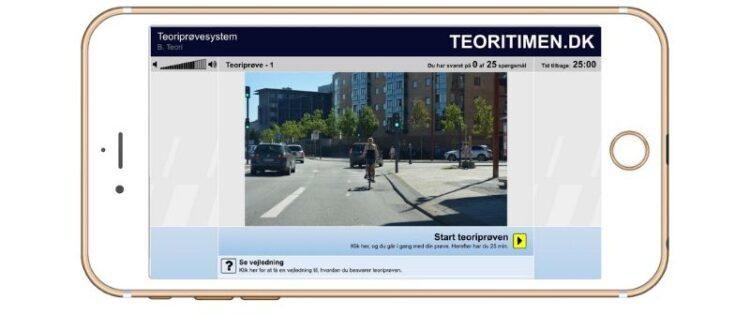 Smartphone eller tablet til teoriprøver